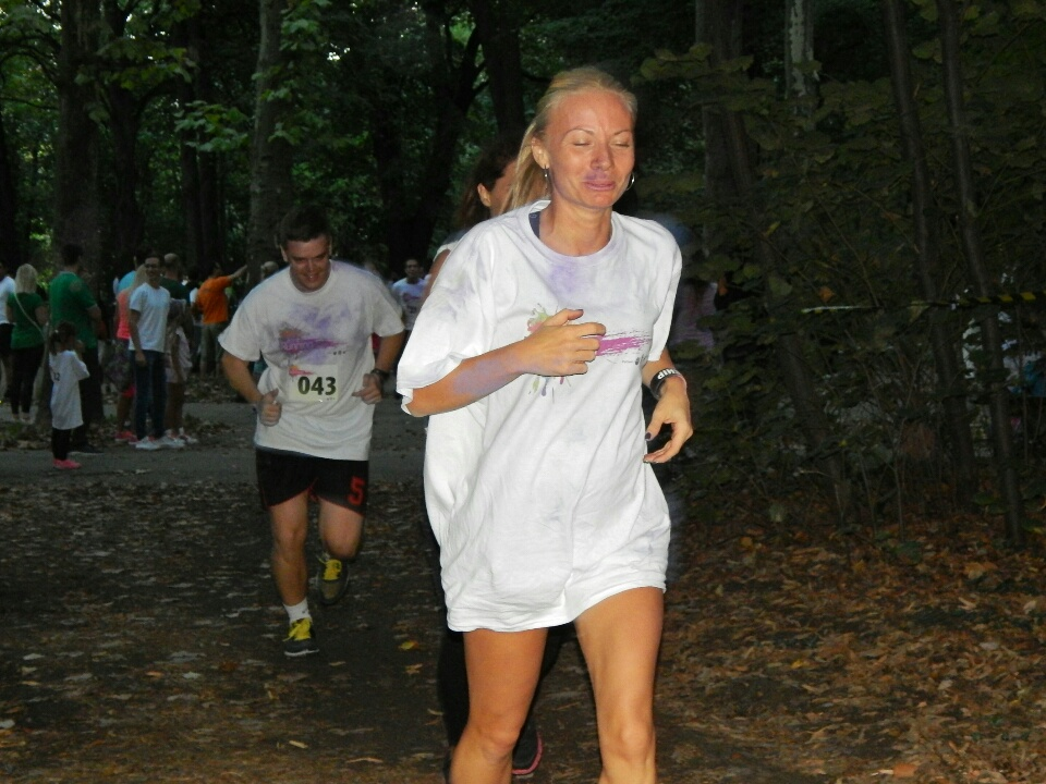Trka sa bojama - Color running 2015