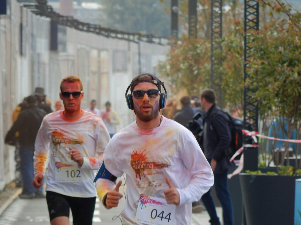 Trka sa bojama - Color running 2016