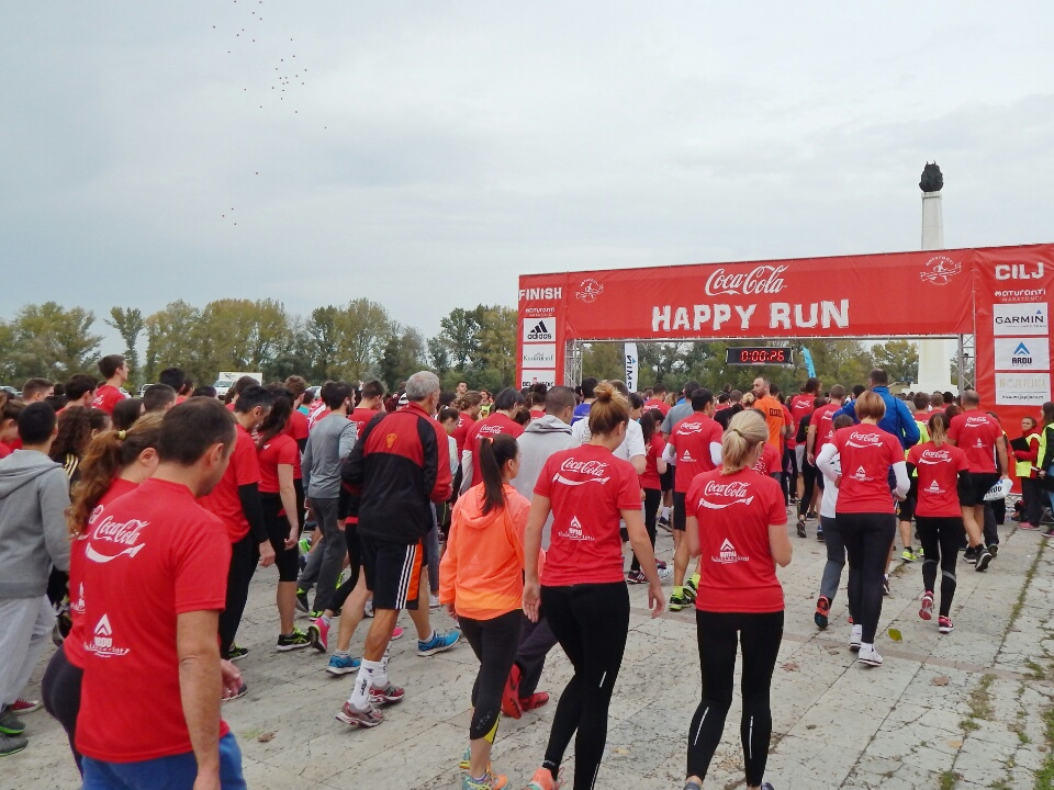 Coca-Cola Happy run 2016