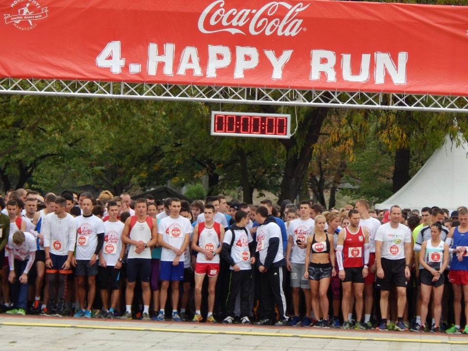 Coca-Cola Happy run 2017