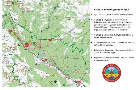 Planinarska akcija Zimski uspon na Trem 2018 - Arhiva 2018